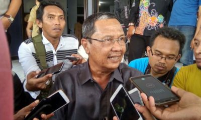 H Ahmad Dafir Ketua DPRD.Kabupaten Bondowoso tegaskan sudah terpenuhi syarat untuk melakukan hak interpelasi.(foto.dul .memontum.com , Bondowoso)