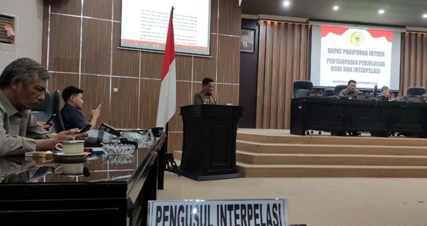 Interpelasi Bupati Bondowoso Berlanjut, Sempat Dihadang Fraksi PPP dan Fraksi Partai Koalisi