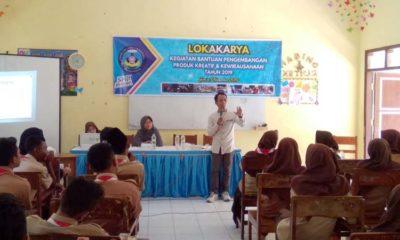 SMKN 1 Wringin Bondowoso, Gelar Lokakarya Pengembangan Produk Kreatif dan Kewirausahaan