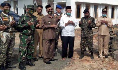 Bupati Bondowoso dan Ketua DPRD Kompak Hadiri Pembangunan Masjid NU