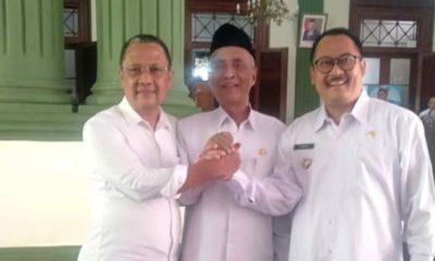 Bupati, Wabup, Ketua DPRD bertekad target SAKIP berpredikat A