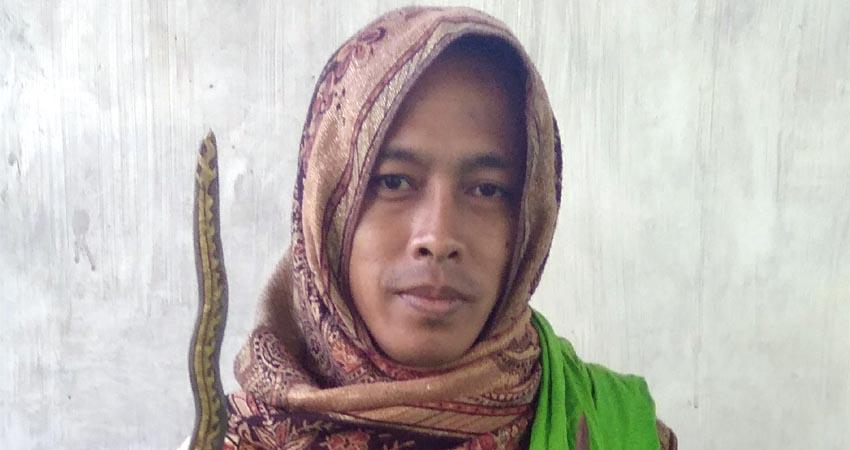 Gus Ali Zamzami Ahli Supranatural (foto Dul momentum)
