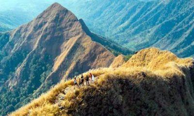 Gunung Piramid yang menyenangkan sekaligus membahayakan (sam)