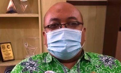 Plt. Direktur RSUD dr. H. Koesnadi, dr. Yuspriyatna A. Sp.P