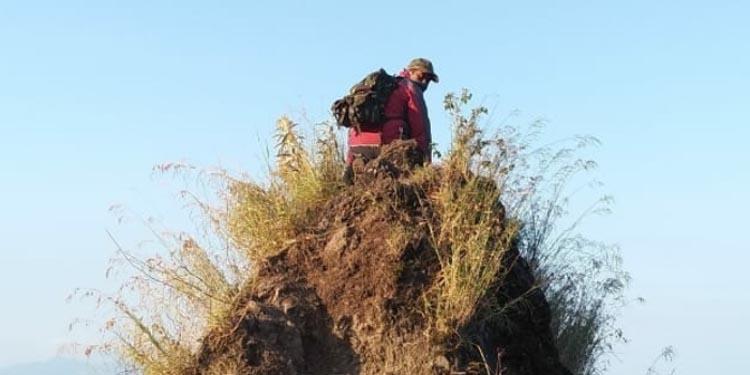 Kondisi Gunung Piramid