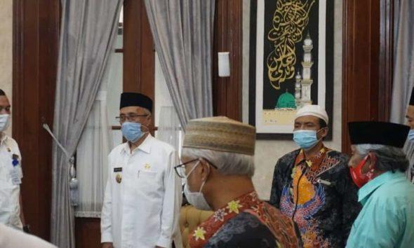 FKUB (Forum Koordinasi Umat Beragama) melakukan koordinasi dengan Pemkab Bondowoso.