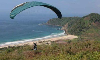 Paralayang Mulai Digemari Anak Muda Bondowoso